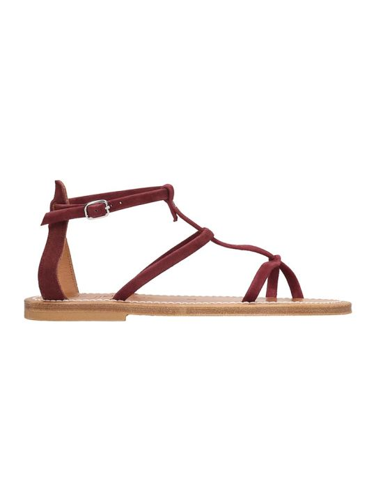 K.Jacques Antioche  Flats In Bordeaux Suede