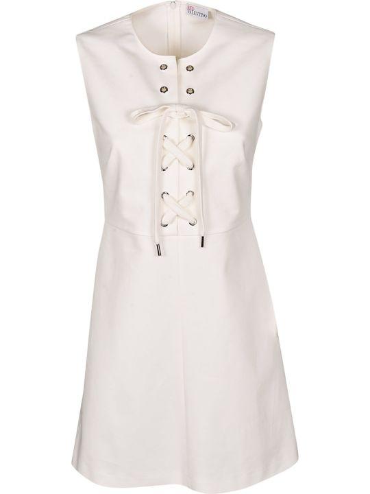 Valentino Lace-up Dress
