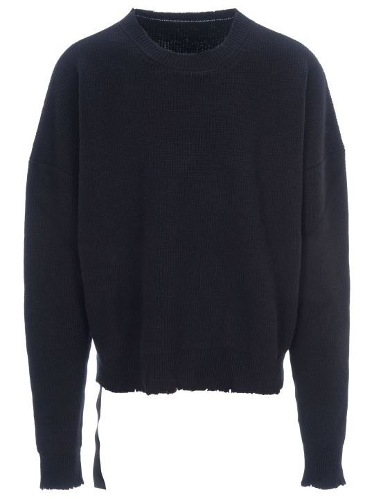 Ben Taverniti Unravel Project Unravel Distressed Jumper