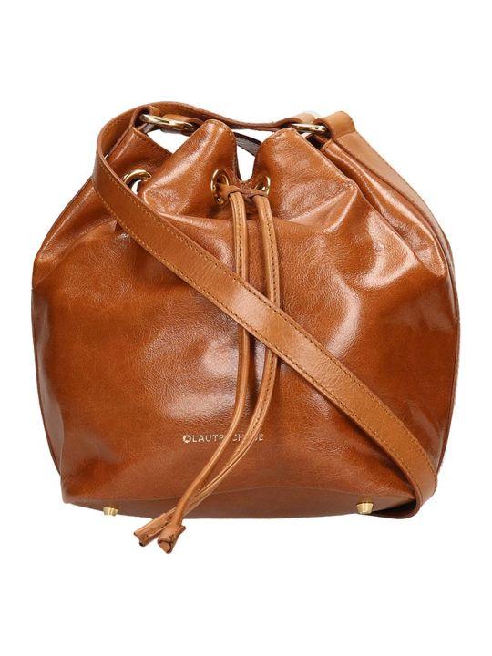L'Autre Chose Brown Leather Bucket Bag