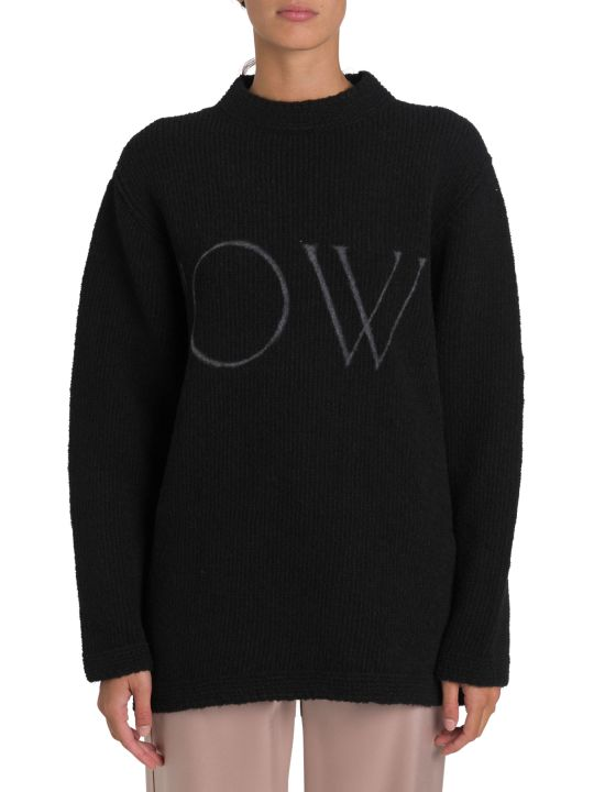 Off-White Ow Intarsia Sweater