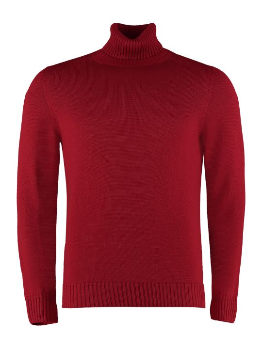 Drumohr Long-sleeve Wool Turtleneck