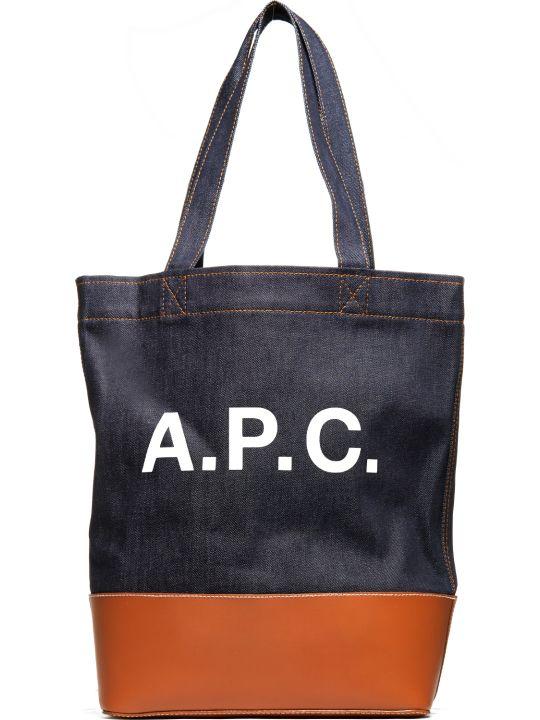 A.P.C. Apc Logo Tote