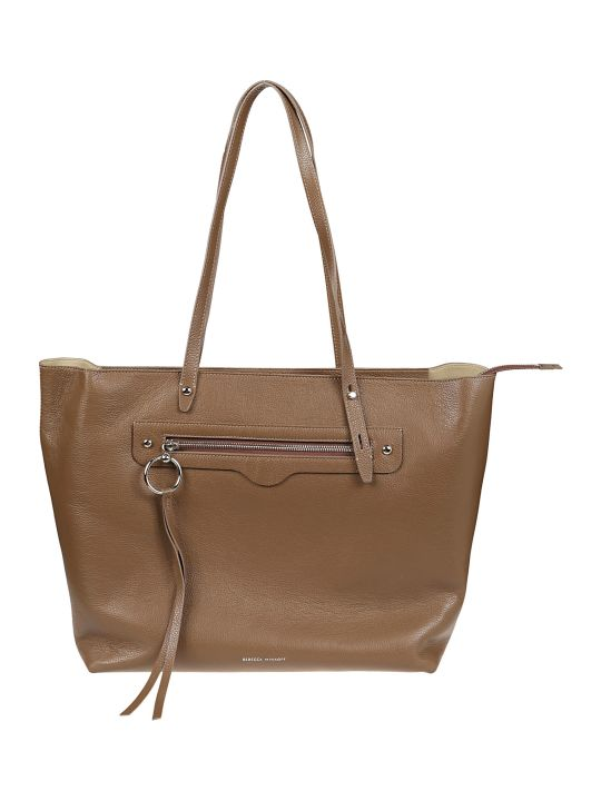 Rebecca Minkoff Borsa New Soft Zip Pebble