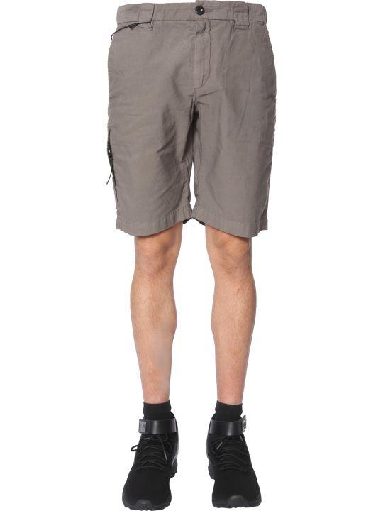 C.P. Company Ottoman Linen Shorts