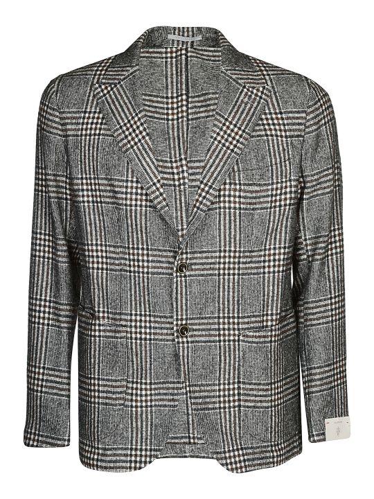 Eleventy Checked Jacket