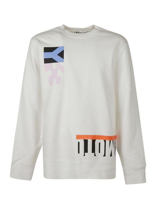 Y-3 Printed Sweatshirt