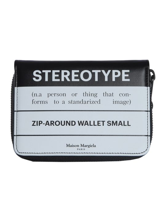 Maison Margiela Zip Around Wallet With Lettering