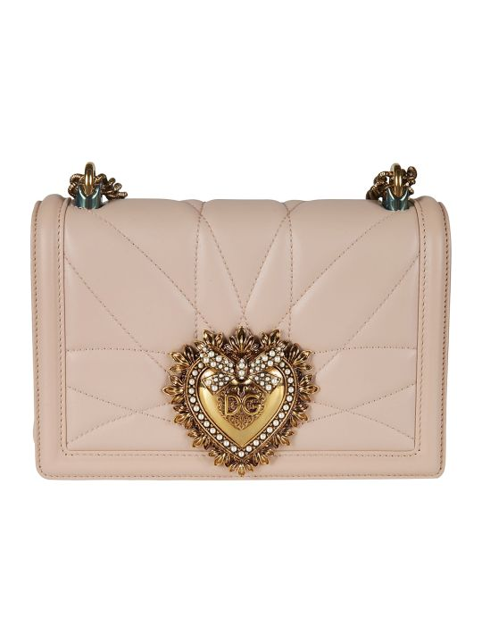 Dolce & Gabbana Logo Plaque Mini Shoulder Bag