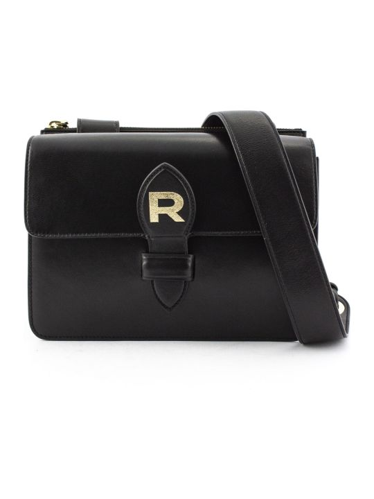 Rochas Black Leather Bag