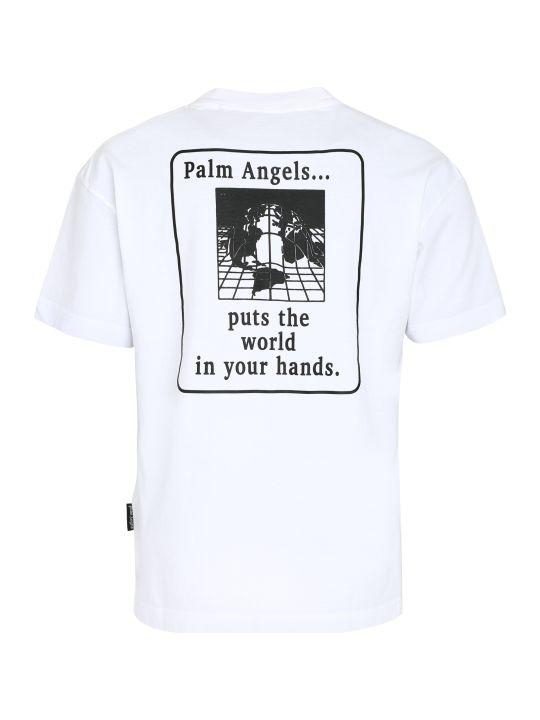Palm Angels Front Patch Cotton T-shirt