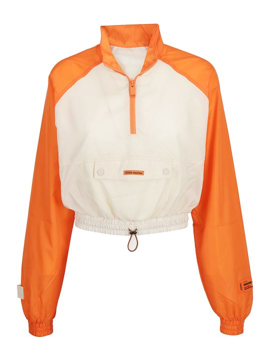 HERON PRESTON -crop Windbrea Jacket