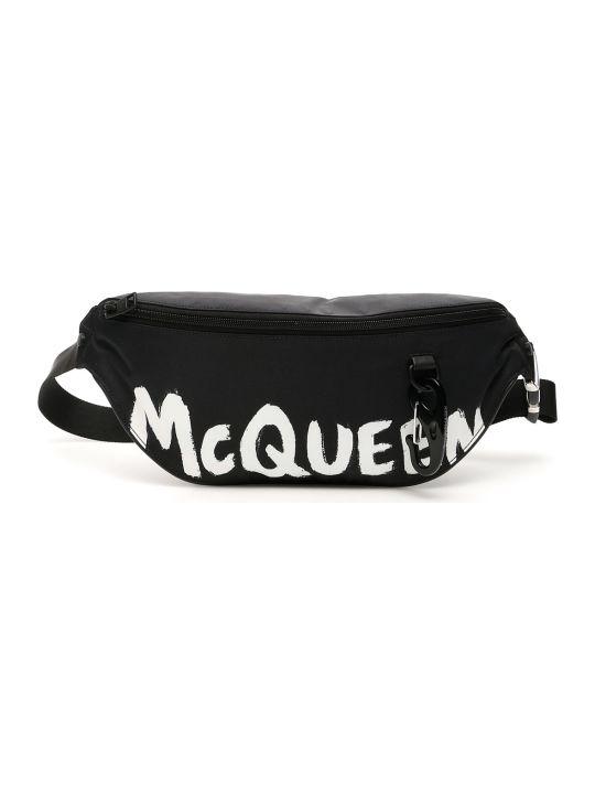 Alexander McQueen Graffiti Logo Beltbag