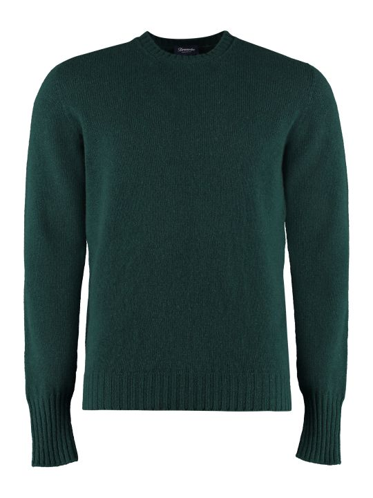 Drumohr Wool Crew Neck Sweater