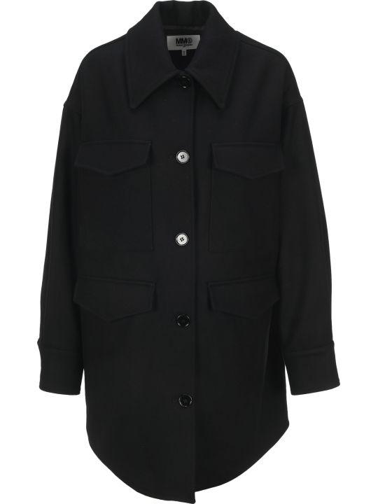 MM6 Maison Margiela Mm6 Oversized Shirt Coat