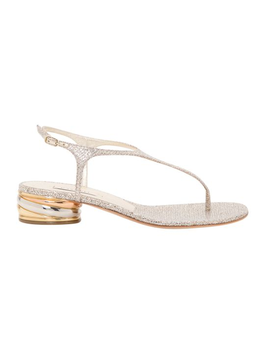 Casadei Glitter Sandals