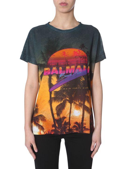 Balmain Linen T-shirt