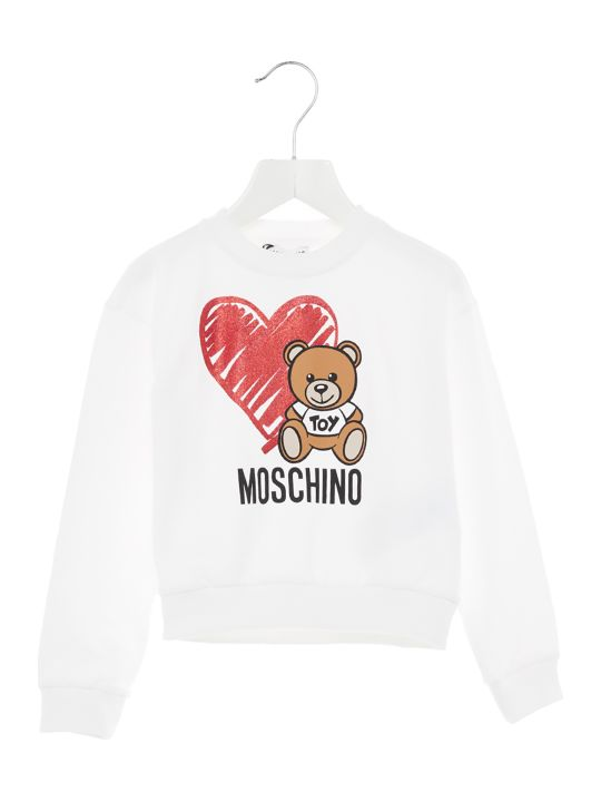 Moschino 'teddy Cuore' Sweatshirt