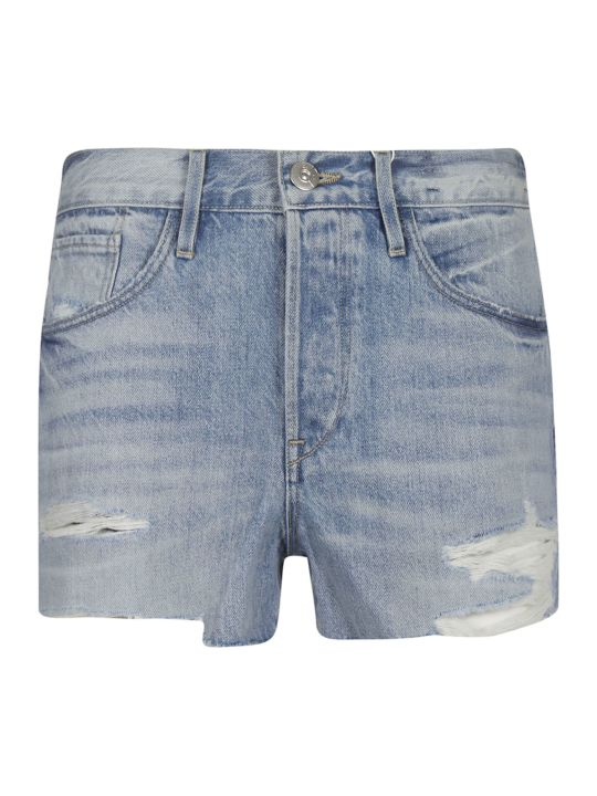 3x1 Faded Frayed Shorts
