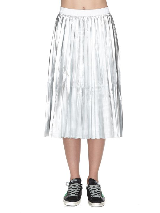 Parosh Parking Metallized Skirt