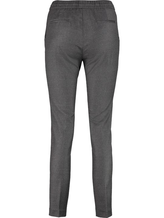 Fabiana Filippi Wool Tapered-fit Trousers