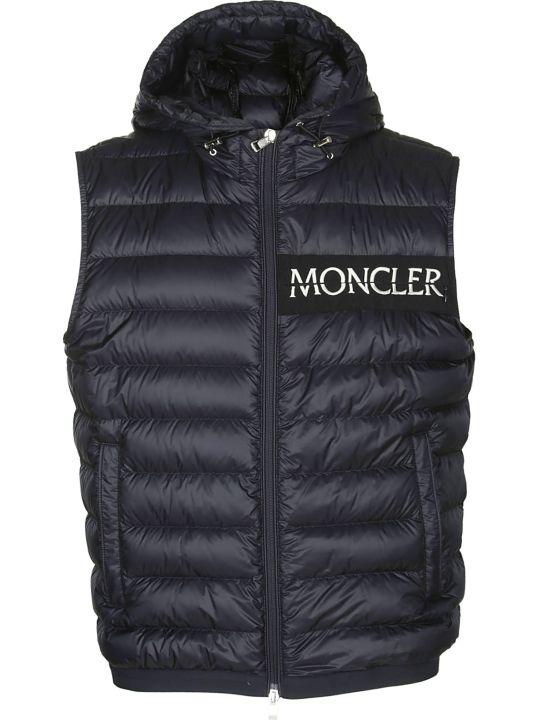 Moncler Logo Patch Padded Gilet