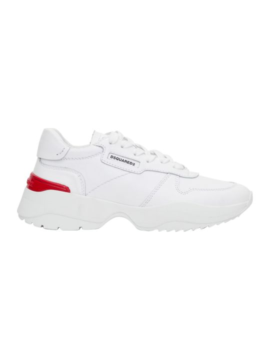 Dsquared2 Sneaker Chunky With Red Detail