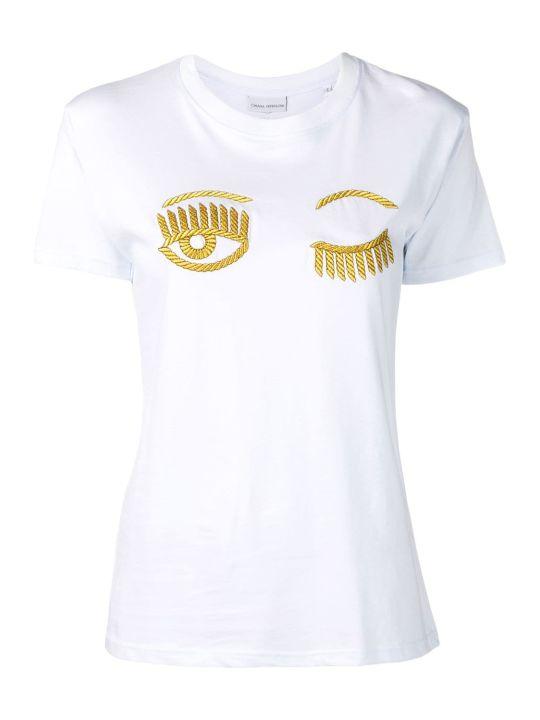 Chiara Ferragni Embroidered T-shirt