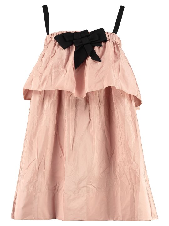 N.21 Dress With Bow On The Collar