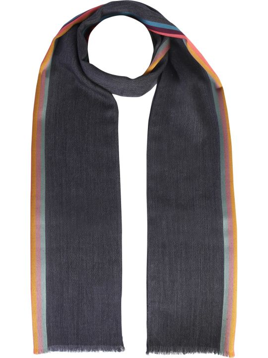 Paul Smith Wool And Silk Scarf