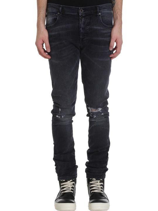 Ben Taverniti Unravel Project Jeans In Black Denim
