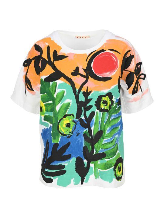 Marni Jungle Wave Print T-shirt