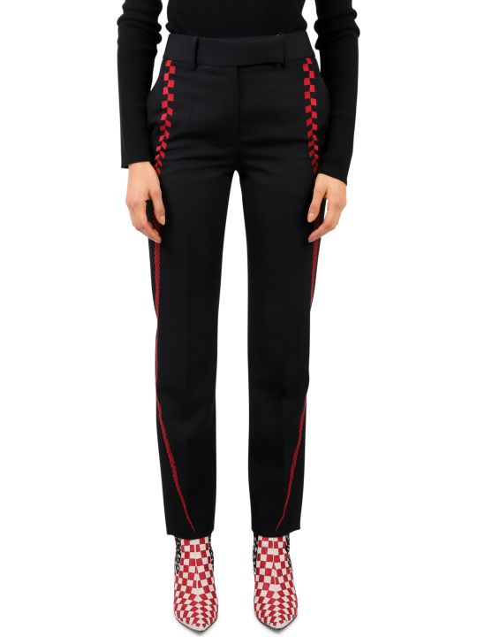 Haider Ackermann Black Embroidered Trousers