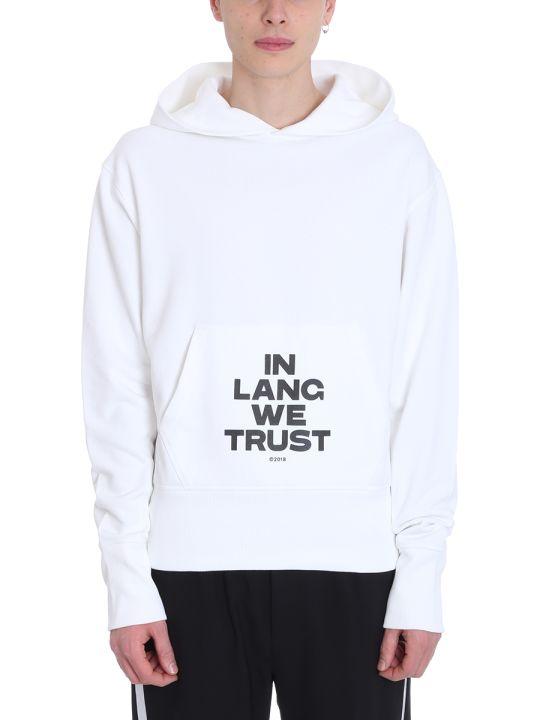 Helmut Lang Black Cotton Sweatshirt