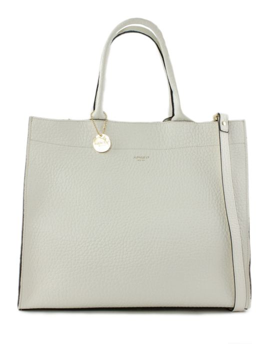 Avenue 67 Irene Shopper In White Leather