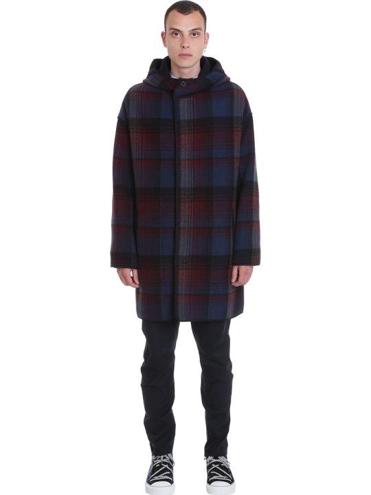 Lanvin Coat In Multicolor Wool