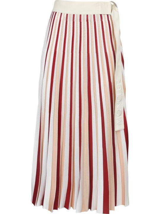 Moncler Genius High Waist Pleated Skirt