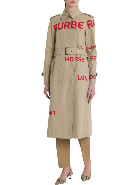 Burberry Wharfbridge Trench Coat
