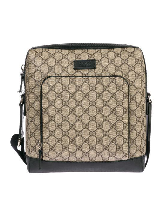 Gucci  Cross-body Messenger Shoulder Bag Gg Supreme
