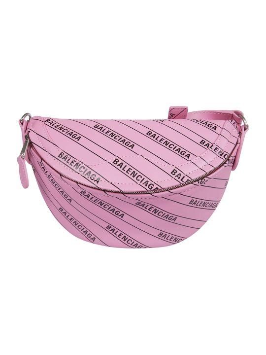 Balenciaga Logo Printed Belt Bag