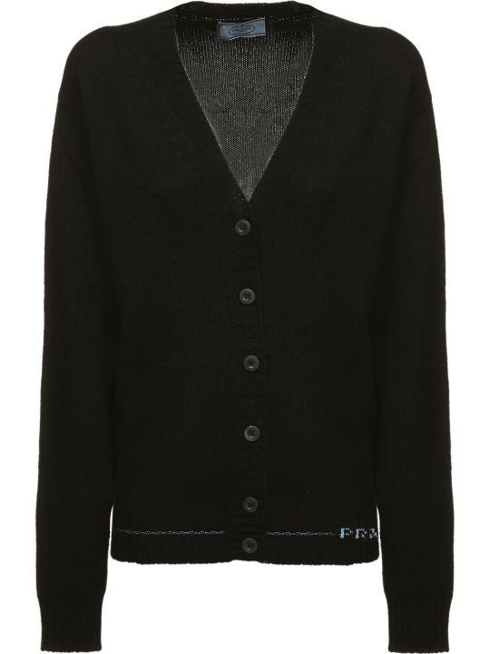 Prada Linea Rossa Knitted Cardigan