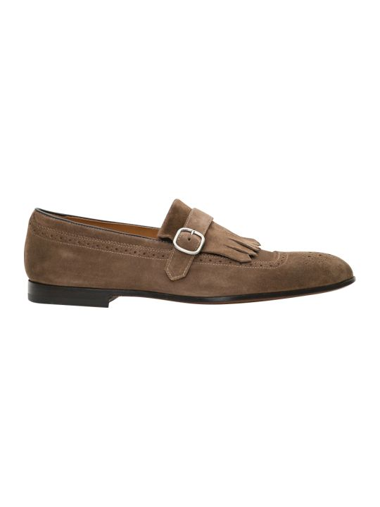 Doucal's Kilty Monk Loafer