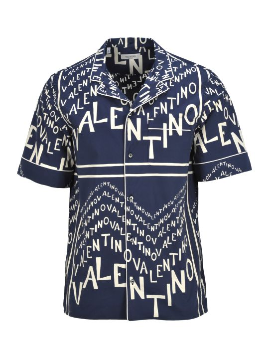 Valentino Shirt Valetino Chevron
