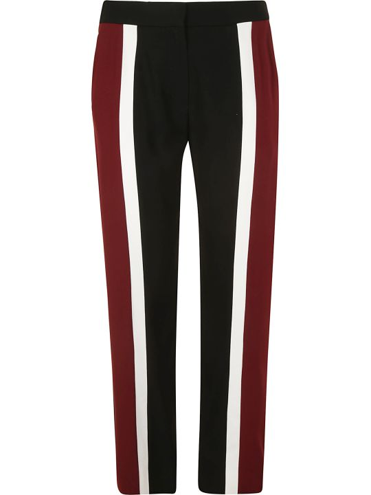 Kenzo Color Block Cropped Slim Trousers