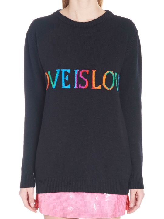 Alberta Ferretti 'love Is Love' Sweater