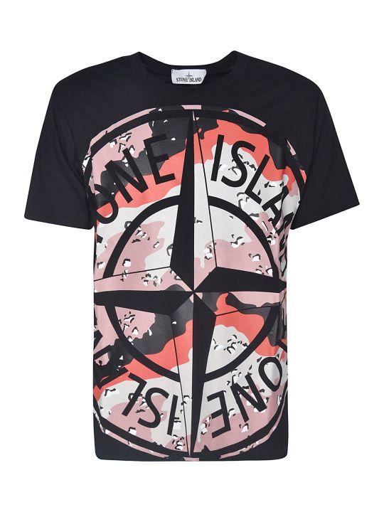 Stone Island Signature Logo Printed T-shirt