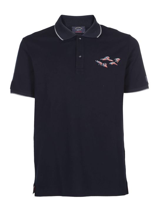 Paul&Shark Paul & Shark Printed Polo Shirt