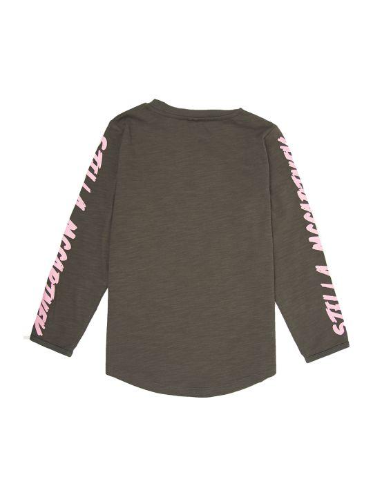 Stella McCartney Ls Tshirt W/pink Logo