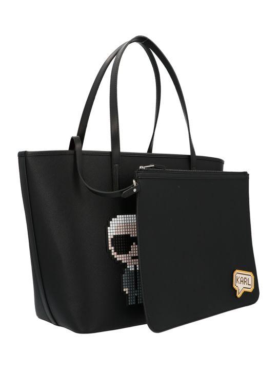 Karl Lagerfeld 'choupette Karl Pixel' Bag