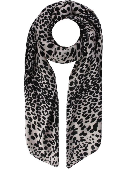 McQ Alexander McQueen Leopard Print Scarf